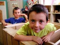 Children playing. Photo credit: Wayne MacPhail