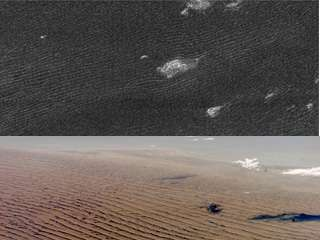 Titan's Seas Are Sand