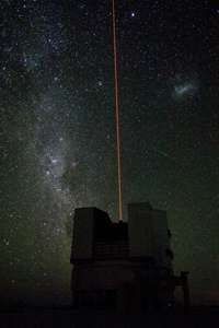 First Light for the VLT Laser Guide Star Facility