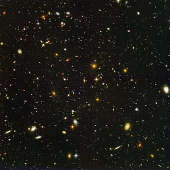 Hubble finds hundreds of young galaxies in the early universe