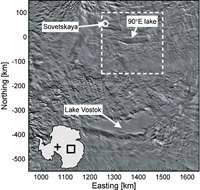 Two new lakes found beneath Antarctic ice sheet 1