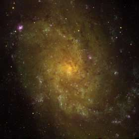 Milky Way's Sister Galaxy Shines in New Portrait
