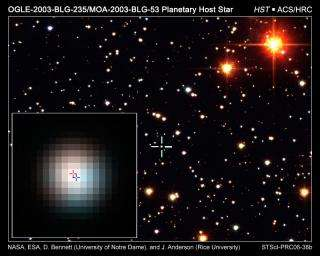 Hubble Identifies Stellar Companion to Distant Planet