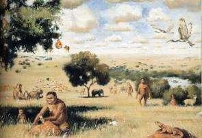 Paranthropus on Plains