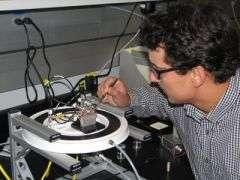 Frozen lightning: NIST's new nanoelectronic switch