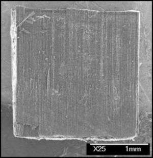 Carbon Nanotube Block - After Compression