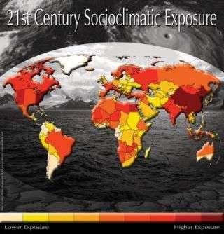 Scientists develop new measure of 'socioclimactic' risk
