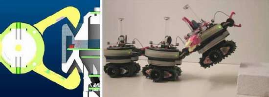 Robot builds itself for special tasks