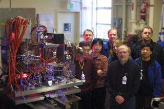 A few of the members of the LCLS electron gun collaboration