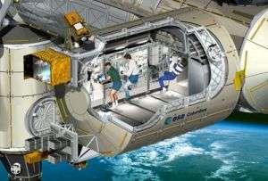 Atlantis readies for Columbus mission