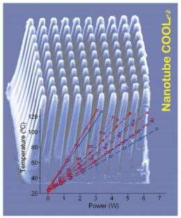 Carbon Nanotube Cooler