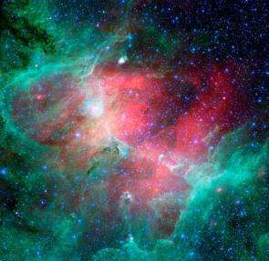 Cosmic Epic Unfolds in Infrared