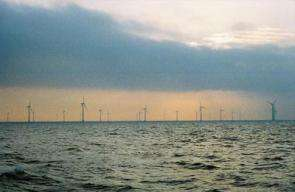 Denmark's Nysted Offshore Wind Farm