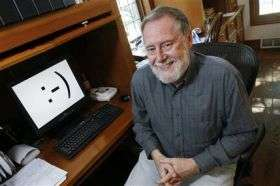 Digital 'Smiley Face' Turns 25 (AP)