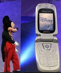 Disney Ends Cell Phone Service for Kids (AP)