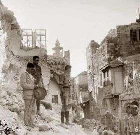 Jerusalem's Old City, July 1927