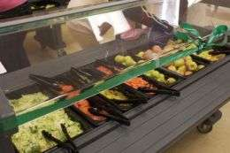 Kids eat more fruits, vegetables when schools offer salad bar