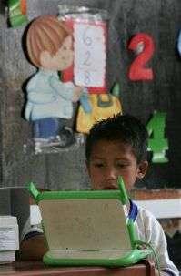 Laptop Project Enlivens Peruvian Hamlet (AP)