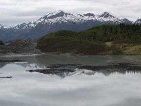 Receding Glacier in Alaska