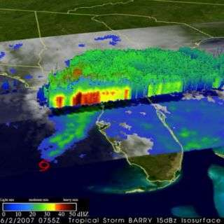 Smaller storms drop larger overall rainfall in hurricane season