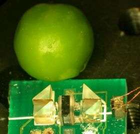 Tiny spectrometer offers precision laser calibration