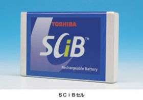 Toshiba Introduces New 10 Year--Quick Charge Industrial Battery