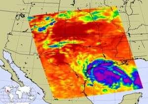Tropical Depression Erin Soaking East Texas