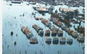 Urban sediments after Hurricanes Katrina, Rita contained high levels of contaminants
