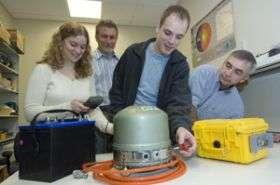 Washington University Antarctic team to install seismographs