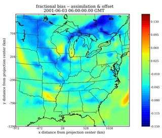 New algorithm increases accuracy of air-pollution predictions