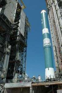 Delta II Rocket with GLAST