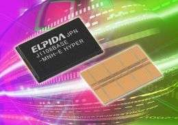 Elpida Develops World's First 2.5Gbps DDR3 SDRAM