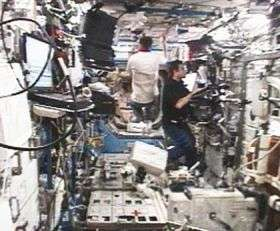 Station Crew Relaxes Before Second Spacewalk