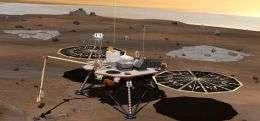 Phoenix Mars Lander Enters Safe Mode