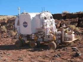 NASA Tests Rover Concepts in Arizona
