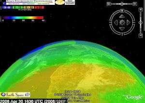 '4-D' ionosphere map helps flyers, soldiers, ham radio operators