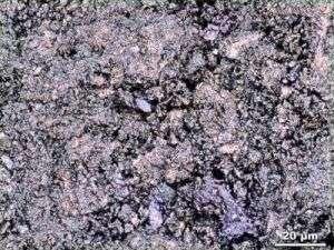 A Cleaved Fluorine-Doped Lanthanum Oxide Iron Arsenide Sample