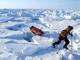 Arctic explorer delivers unique snow-depth data for CryoSat