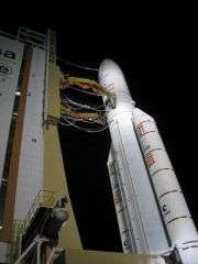 Ariane rocket puts telecom satellites into orbit