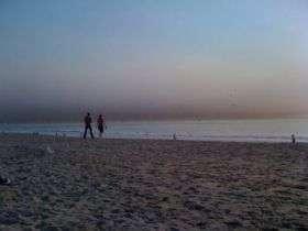 A Smoky Beach