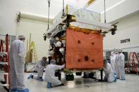 GLAST spacecraft arrives in Florida to prepare for launch