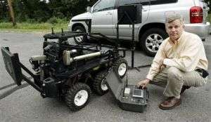 Grief leads father to create bomb-defusing robot (AP)