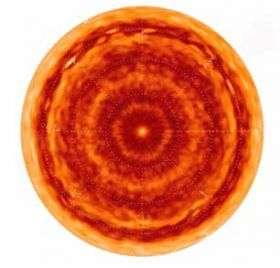 Hot Cyclones Churn at Both Ends of Saturn