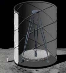 Liquid Mirror Telescopes on the Moon