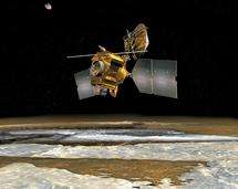 Martian weather satellite's first report