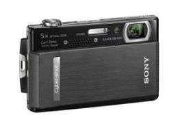 New Sony Cyber-Shot T500 Camera's Video Capture Goes High Def