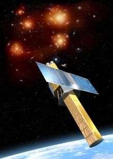 NeXT Satellite with SXS Instrument