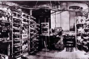 Oh Baby! First photograph of early modern computer