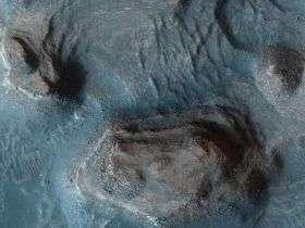 Rocky Mesas of Nilosyrtis Mensae, Mars