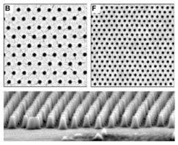 Self-assembling polymer arrays improve data storage potential